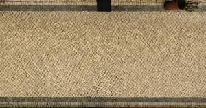 beige cobblestone