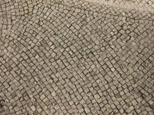 stone pavement road