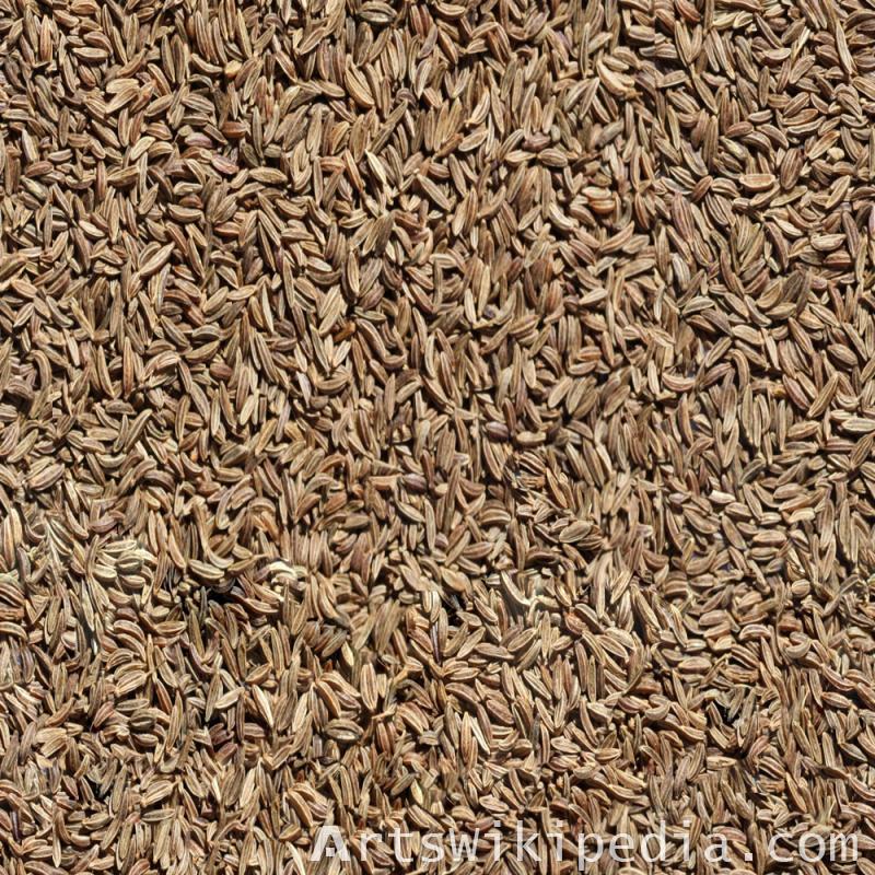 Free Seamless rice hulls texture