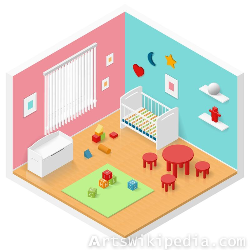 Isometric room