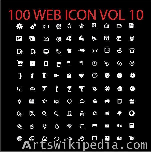 100 web icon vol 10