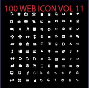 100 web icon vol 11