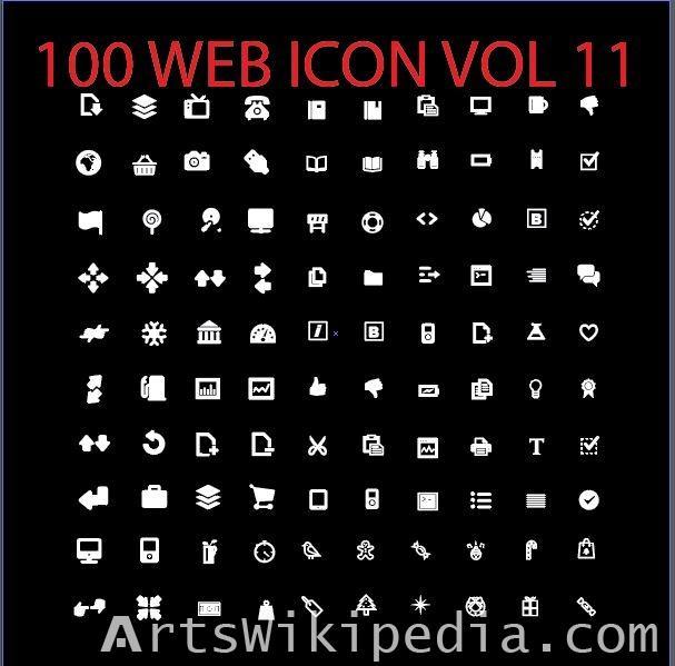 100 web icon vol 11