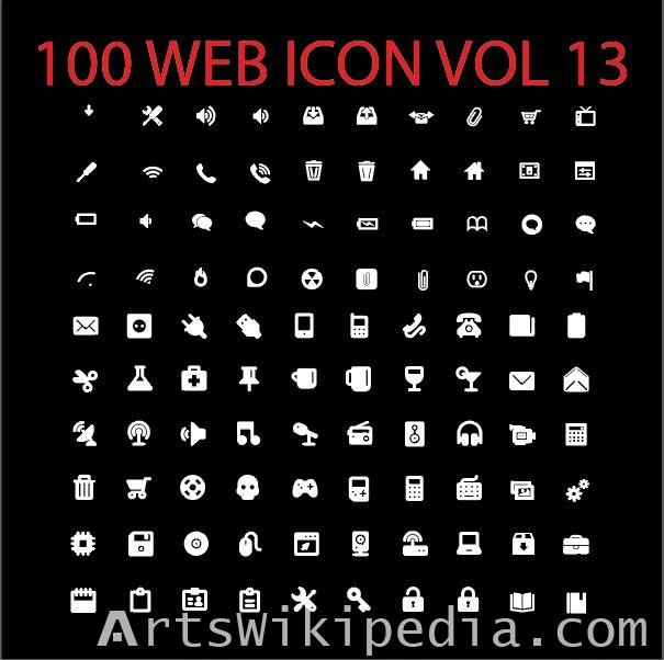 100 web icon vol 13
