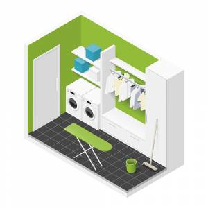 Isometric Laundry