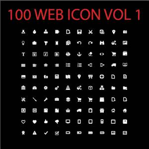 100 web icon vol 1