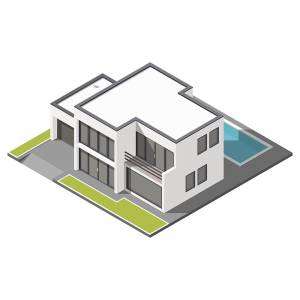 Isometric building design