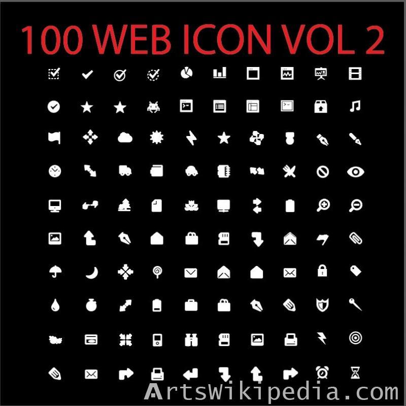 100 web icon vol 2