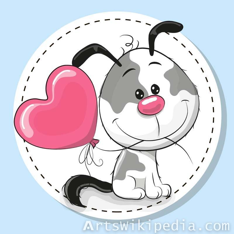 Romantic Animals Illustrations