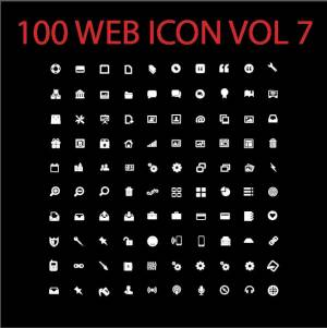 100 web icon vol 7