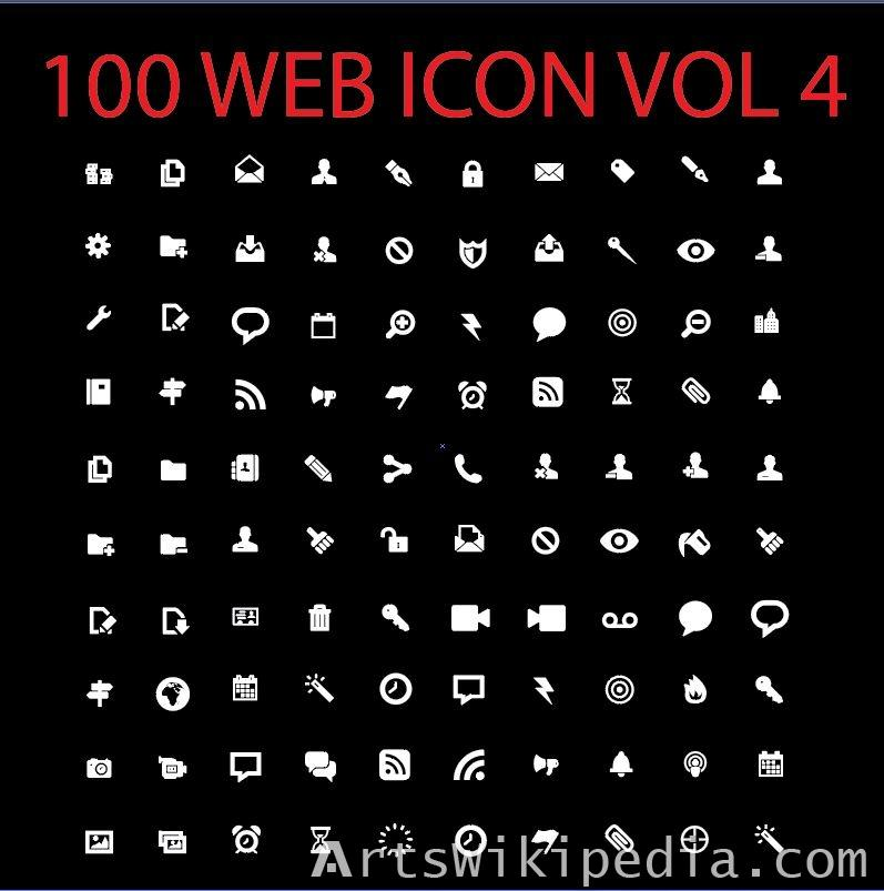 100 web icon vol 4
