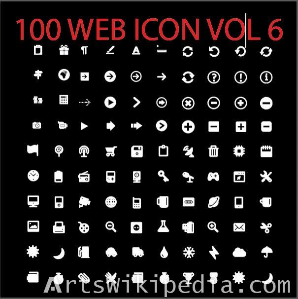 100 web icon vol 6