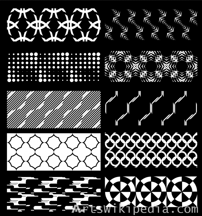 Free Geometric vector pattern